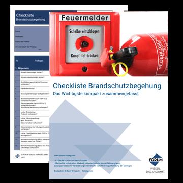 Checkliste für eine Brandschutzbegehung