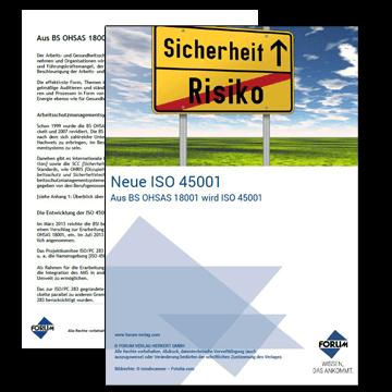 Neue ISO 45001