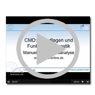 Experten-Video über CMD - Grundlagen und Funktionsdiagnostik